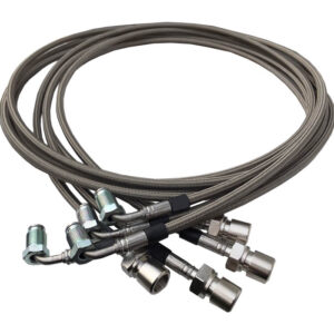 Hydraulic Lines for Relocation Kit BMW E46 M3 SMG II